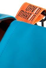 DavidMartinBags.com Travelbag Happy Alligator, reistas Petrol Blue