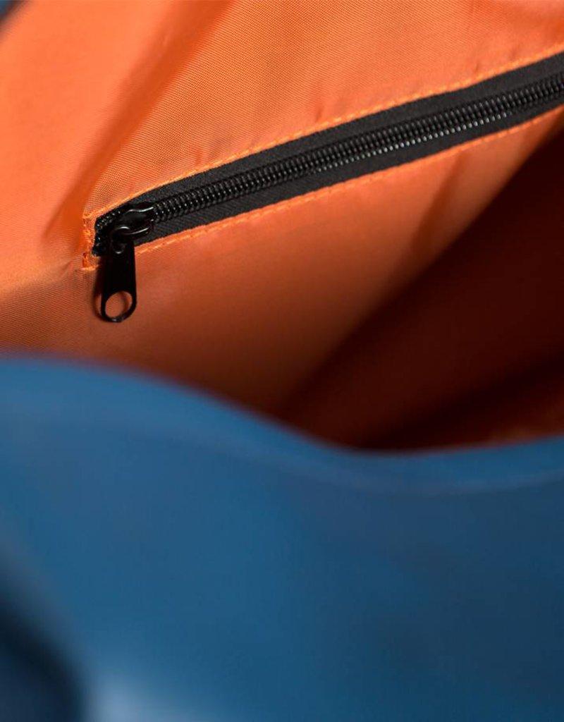 DavidMartinBags.com Travelbag Let's Get Lost, reistas Denim Dark Blue