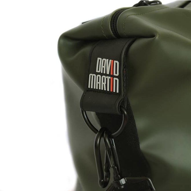 DUFFELBAG MEDIUM HAPPY ALLIGATOR - DARK GREEN