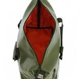 Travelbag Happy Alligator - Dark Olive Green
