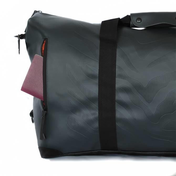 Travelbag Large - Zebra Antracite
