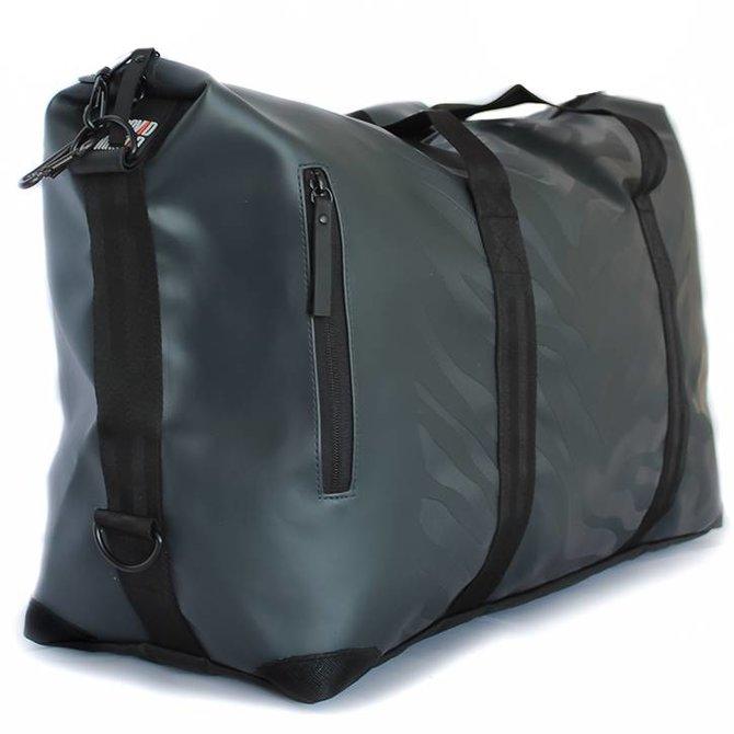 Travelbag Large - Zebra Antraciet