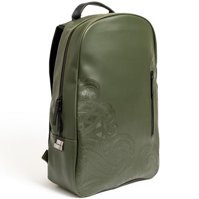 Backpack Painless Tattoo - Dark Olive Green