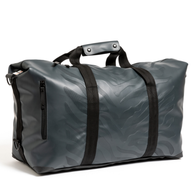 DUFFELBAG LARGE ZEBRA - DARK GREY