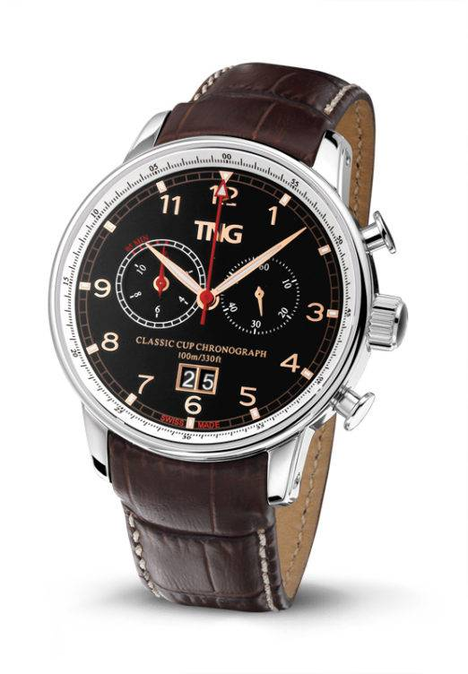 TNG Swiss Watches TNG Classic Cup Chronograph TNG10155.E