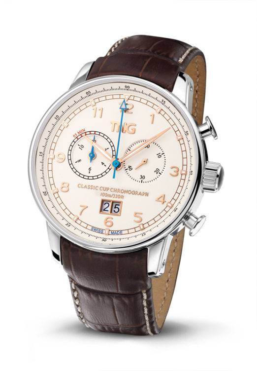 TNG Swiss Watches TNG Classic Cup Chronograph TNG10155.C