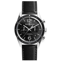 Bell & Ross BRV126 Black Sport BRV126-BL-BE/SCA