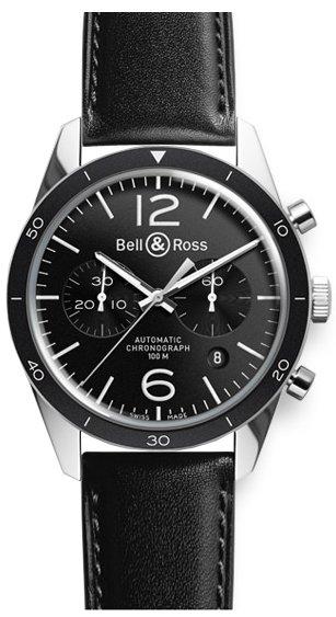Bell & Ross Bell & Ross BRV126 Black Sport BRV126-BL-BE/SCA