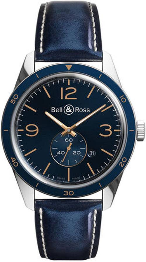 Bell & Ross Bell & Ross BRV123 Aeronavale BRV123-BLU-ST/SCA