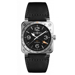 Bell & Ross BR03-93 GMT BR0393-GMT-ST/SCA