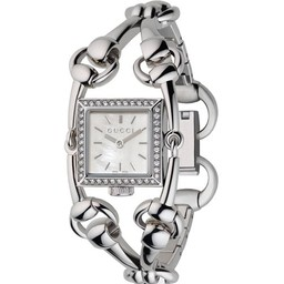 Gucci GucciSignoria Small steel/diamondsYA116513