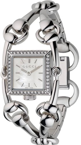 Gucci Gucci	Signoria Small steel/diamonds	YA116513
