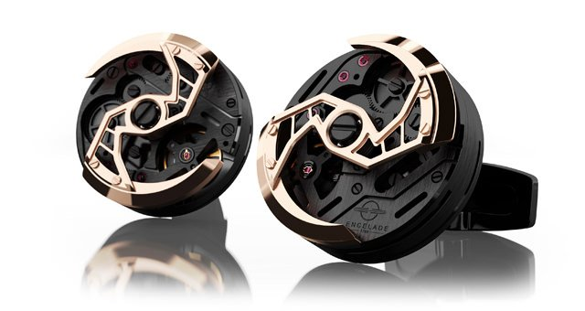 ENCELADE 1789 ENCELADE 1789 Encelade 1813 Rotor Black/Gold PVD 1813 Rotor BK PV