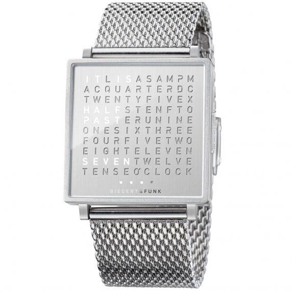 Qlocktwo Qlocktwo Horloge W3ENBRMBR1