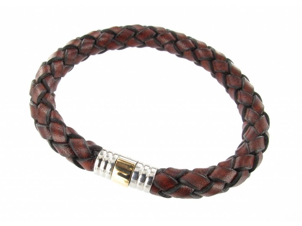 Albanu Albanu Brown leather 30.05.12 000703CUIR OR
