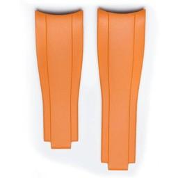 Everest Rolex straps Rubber Orange 6 by 6, EH7ORG66