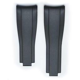 Everest Rolex straps black Rubber 5 by 5, EH7BLK55