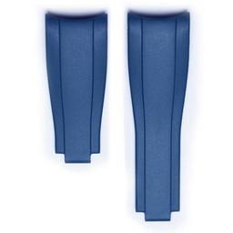 Everest Rolex straps Blue Rubber 4 by 5, EH7BLU45