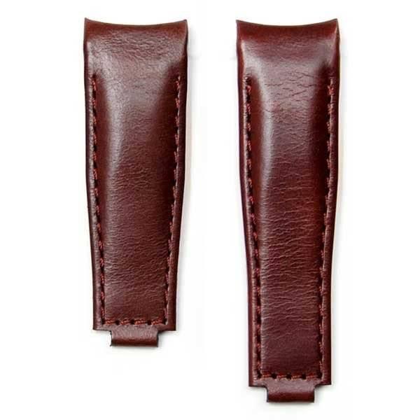 Everest Rolex straps Everest Leather Strap Curved End Brown for Rolex, EH9BRN