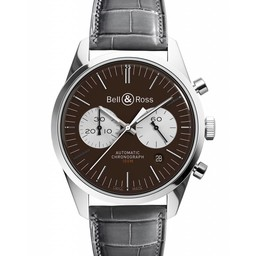 Bell & Ross Limited Edition  BRV126 Officer Brown BR126-94
