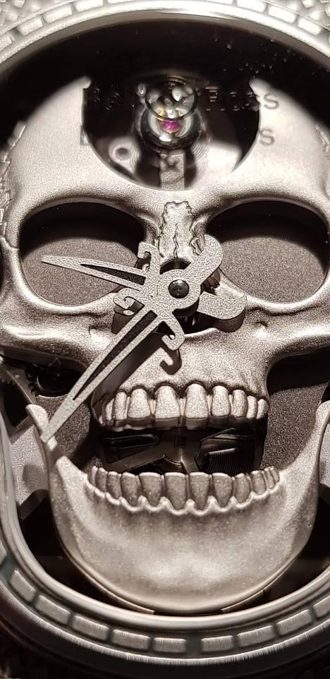 Bell & Ross Bell & Ross Limited Edition  BR01 Skull Skeleton BR01-SKULL-SK-ST