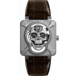 Bell & Ross Limited Edition  BR01 Skull Skeleton BR01-SKULL-SK-ST