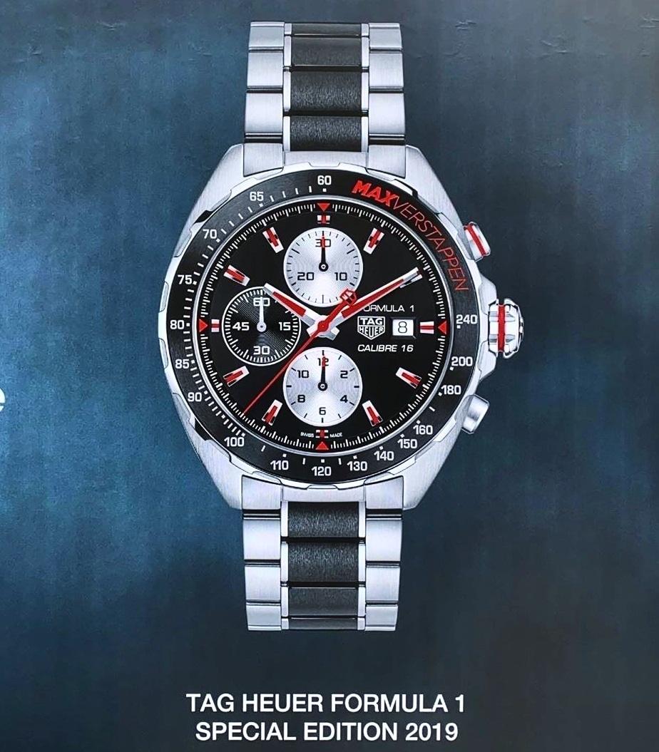 TAG Heuer TAG Heuer Formula 1 Max Verstappen Special Edition 2019 CAZ2018.BA0970