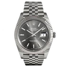 Rolex Datejust 41 Rhodium Dial 126334