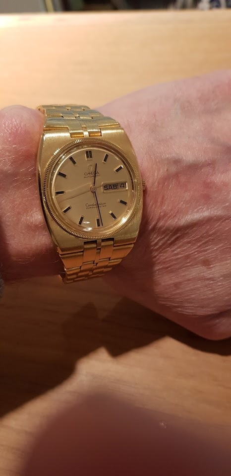 Omega Constellation Day-Date 168.045-368.845