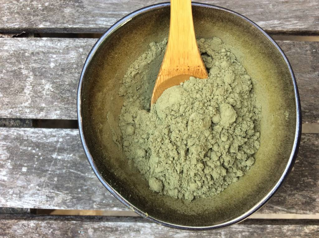 Stevia gemalen