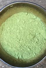 Alfalfablad (luzernekruid) gemalen