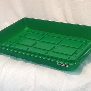 Cultivation tray 50 x 32 x 6 cm with corrugated box bottom