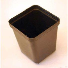 Square pots 7 x 7 x 8 cm