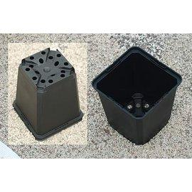 Square pots T: 9 x 9 x 9.5 cm