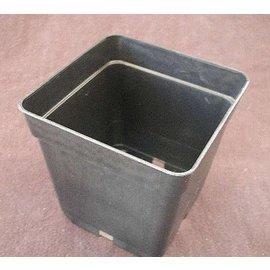 Viereck-Container-Töpfe 13 x 13 x 13 cm