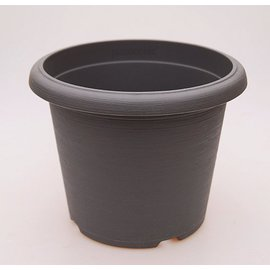 gran pote Terrae Cilindro 25 cm gris