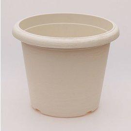 gran pote Terrae Cilindro 30 cm blanco