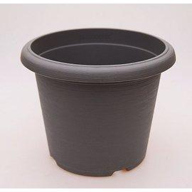 gran pote Terrae Cilindro 30 cm gris