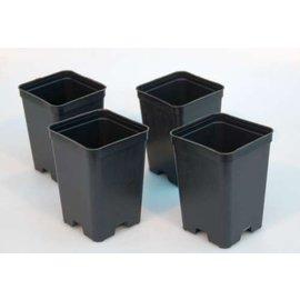 Viereck-Container-Töpfe hoch 7 x 7 x 10 cm