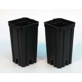 Viereck-Container-Töpfe hoch 7 x 7 x 14 cm