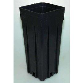Viereck-Container-Töpfe hoch 9 x 9 x 20 cm