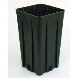 Conteneur carré pots hauts 10 x 10 x 17 cm