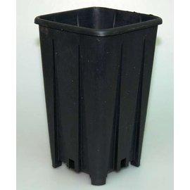 Conteneur carré pots hauts 11 x 11 x 20 cm