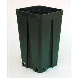 Conteneur carré pots hauts 12 x 12 x 20 cm