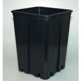 Conteneur carré pots hauts 16 x 16 x 23 cm