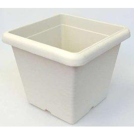 Viereck-Großcontainer Terrae Quadro 35 cm weiß