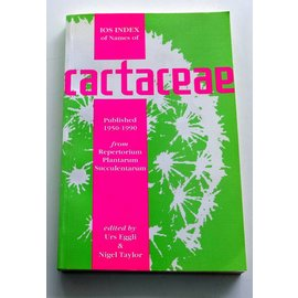 Cactaceae Urs Eggli, Nigel Taylor