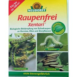 Neudorff Xentari caterpillar free