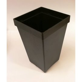 Square container pots tall 7 x 7 x 11 cm
