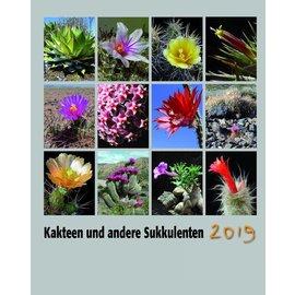 Kakteen und Sukkulenten Kalender 2019